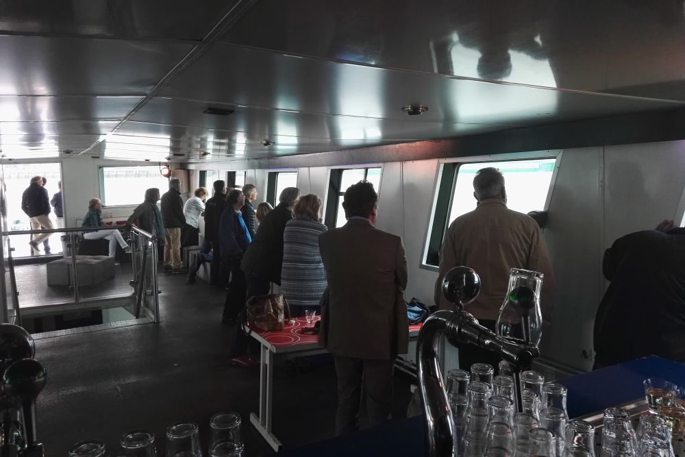 Groepsuitje Lions Club Huizen op partyBOOT 3 in Rotterdam