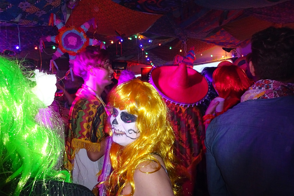 Mexicaans feest op partyBOOT 1 Amsterdam