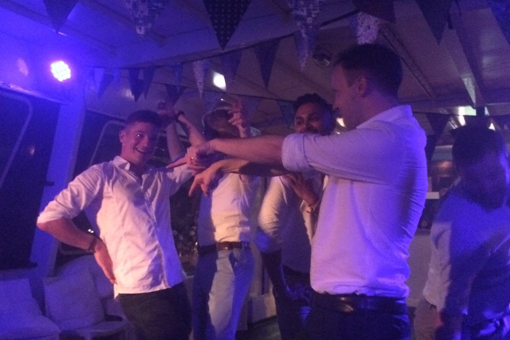 Spectaculair trouwfeest op partyBOOT 1 Amsterdam