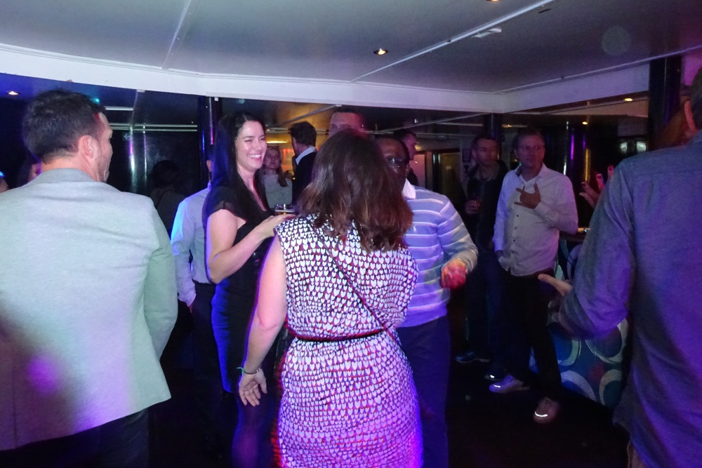 Feest expats op partyBOOT 8 vanuit Amsterdam