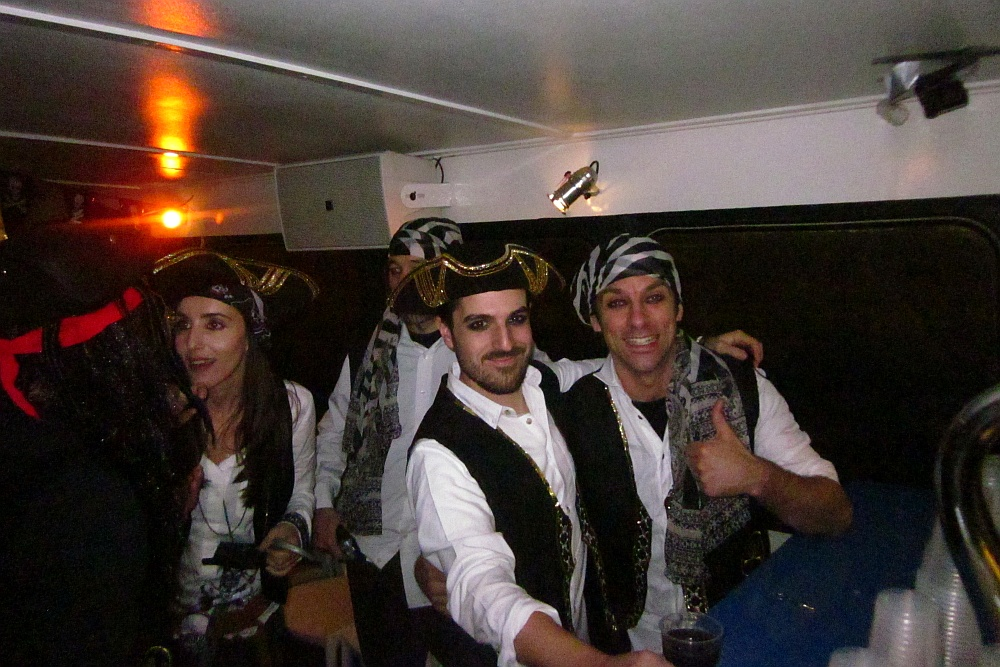 Themafeest Piraten op partyBOOT 4 te Leiderdorp