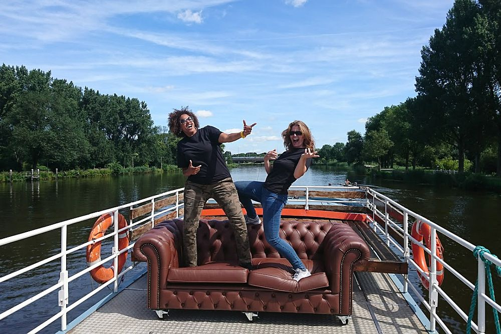 Young ING talents op partyBOOT 5 Amsterdam